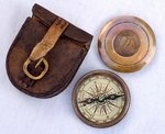 Компас Stanley London, Pocket Compass, 1885
